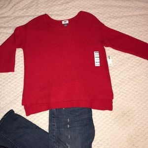NWT Medium red Old Navy sweater